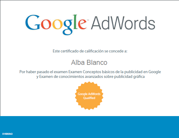 Adwords Qualified Alba Blanco